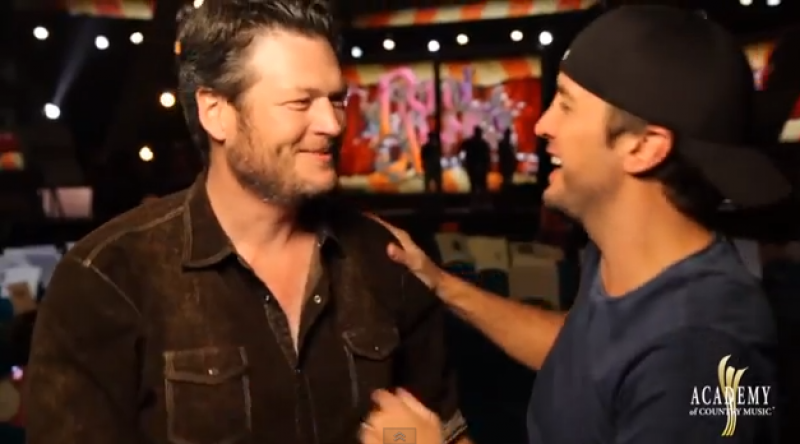 BLUKE: Behind the Scenes with Blake Shelton & Luke Bryan - 2013 ACM Awards